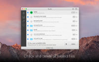 TrashMe screenshot: check related files