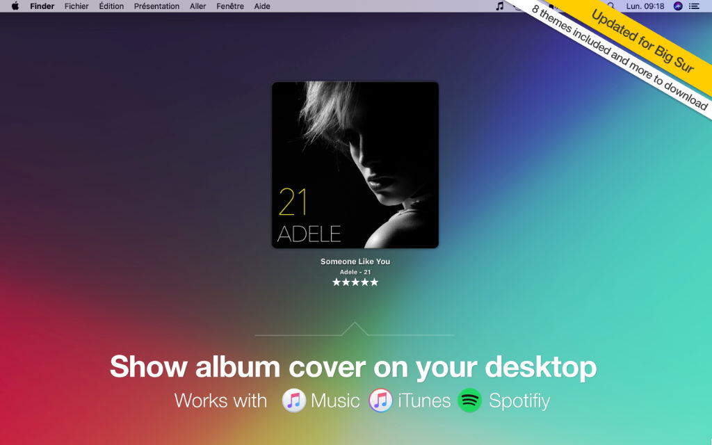 TunesArt: perfect companion for iTunes and Spotify on macOS – Jibapps